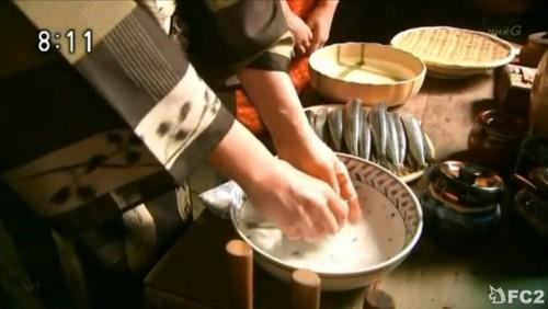 和枝 鰯料理を始める